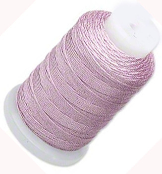 Silk Beading Thread Cord Size E Lilac 0.0128 Inch 0.325mm Spool 200 Yd 5151Bs