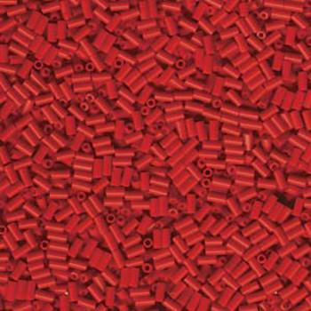 Miyuki #1 Glass Bugle Beads 3x1.5mm Red -Aprx 19 Grams