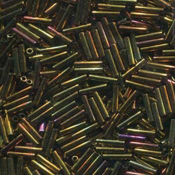 Miyuki Slender Bugle 1.3x6mm Gold Violet Metallic 13 Gram Retail Pack