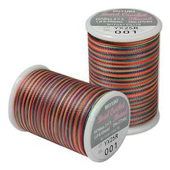Miyuki Bead Crochet Size 8-Rainbow 25 Yards