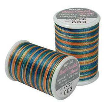 Miyuki Bead Crochet Size 8-Prairie 25 Yards
