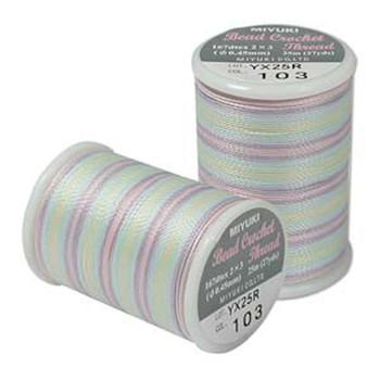 Miyuki Bead Crochet Size 8-Spring Flowers 25 Yards