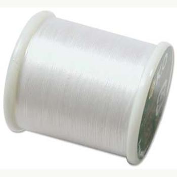 Japanese Nylon Beading Thread By KO For Delica Beads White 55  Yards