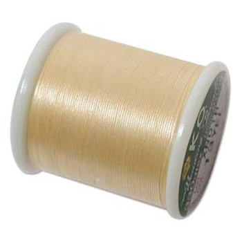 Japanese Nylon Beading Thread By KO For Delica Beads Yellow 55  Yards