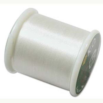 Japanese Nylon Beading Thread By KO For Delica Beads Ivory 55  Yards