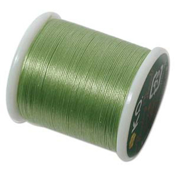 Japanese Nylon Beading Thread By KO For Delica Beads Apple Green 55  Yards
