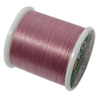 Japanese Nylon Beading Thread By KO For Delica Beads Lilac 55  Yards