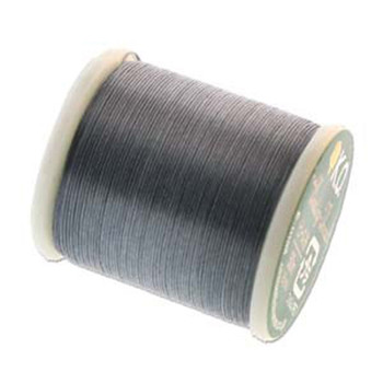 Japanese Nylon Beading Thread By KO For Delica Beads Dark Grey 55  Yards