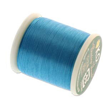 Japanese Nylon Beading Thread By KO For Delica Beads Turquoise 55  Yards