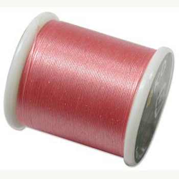 Japanese Nylon Beading Thread By KO For Delica Beads Rose 55  Yards