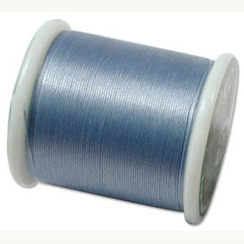Japanese Nylon Beading Thread By KO For Delica Beads Lt Blue 55  Yards