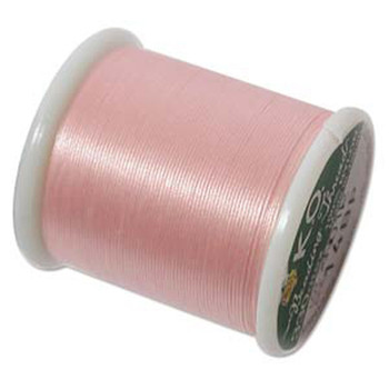 Japanese Nylon Beading Thread By KO For Delica Beads Baby Pink 55  Yards
