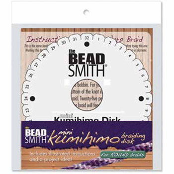 Beadsmith Kumihimo Disk 4.25 In Eng Instr Ea. 35mm Hole