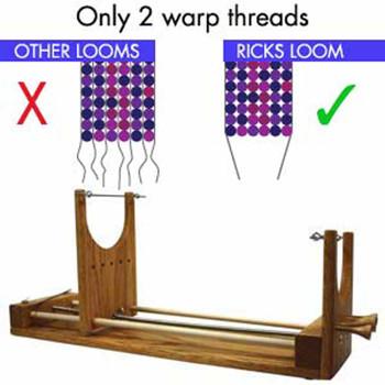 Ricks Beading Loom The Two Warp Loom
