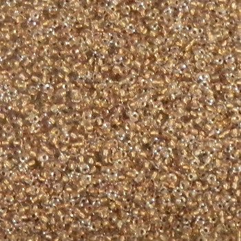 Crystal Copper-Lined Matubo 11/0 (2.1mm)7.5 Grams 0.9mm Hole Czech Glass Seed Beads Approx 750 Beads