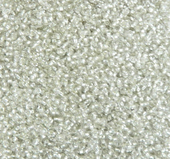 Crystal Silver-Lined Matubo 11/0 (2.1mm)7.5 Grams 0.9mm Hole Czech Glass Seed Beads Approx 750 Beads