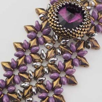 Tianna Bracelet Designed By: BeadSmith Inspiration Squad Member Erika Sandor