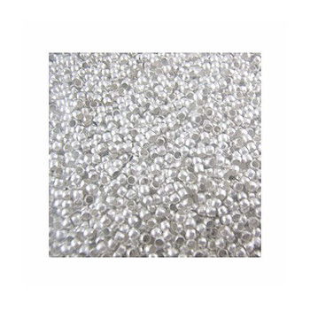 5000 Crimp Beads - 2mm Shiny Silver Plated Lead Free Alloy Beads Rb00776