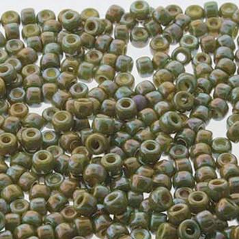 Matubo 2/0 6.1mm 2.1mm Hole Lemon Nebula 19 Grams Approx 90 Pony seed Beads Czech Glass