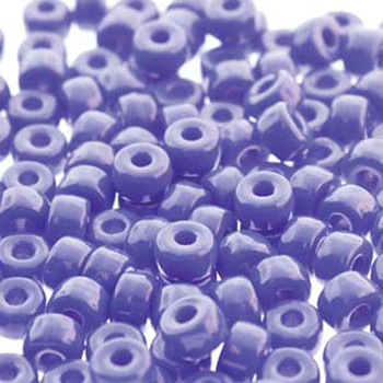 Matubo 2/0 6.1mm 2.1mm Hole Chalk Lazure Blue 19 Grams Approx 90 Pony seed Beads Czech Glass