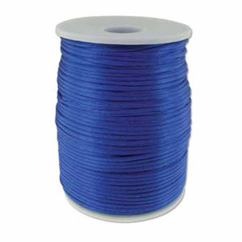 5 Yards Satin Cord  2mm Royal Blue 5 Yards