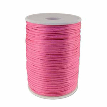 5 Yards Satin Cord  2mm Light Pink 5 Yards