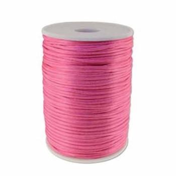 5 Yards Satin Cord  2mm Light Pink 5 Yards