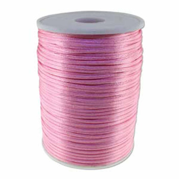 5 Yards Satin Cord  2mm Mauve 5 Yards