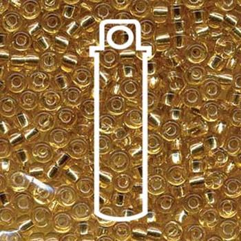 6/0 Miyuki Seed Beads Silver Lined Gold (Like Db 42)-Appr 20 Gram  Tb