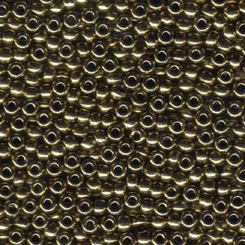 Metallicbronze Miyuki Seed Beads Appx 20 Gram  Tube