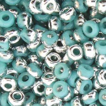 6/0 Unions Miyuki Czech Seed Beads Grn Turq Labrador 20  Gram /Tb