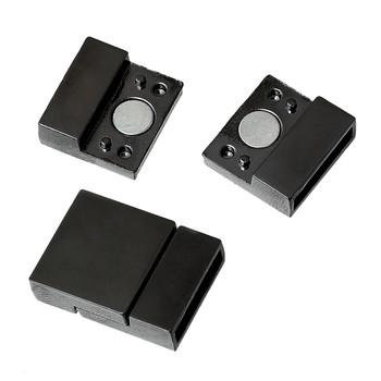 "1pc Magnetic Clasps Rectangle Gunmetal 22mm( 7/8"") x 16mm( 5/8"")"