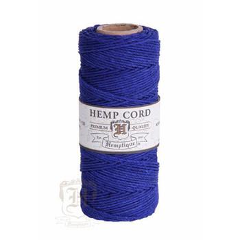 Royal Blue #20 1mm Hemp Cord 50grm Spool 200 feet