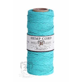 Teal #20 1mm Hemp Cord 50grm Spool 200 feet