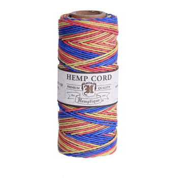 Rhythm #20 1mm Hemp Cord 50grm Spool 200 feet