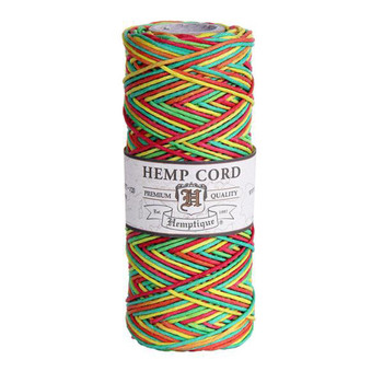 Rasta #20 1mm Hemp Cord 50grm Spool 200 feet