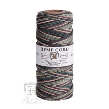 Camo #20 1mm Hemp Cord 50grm Spool 200 feet