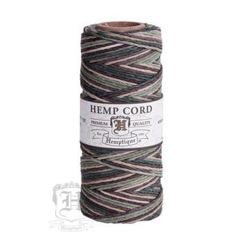 Camo #20 1mm Hemp Cord 50grm Spool 200 feet