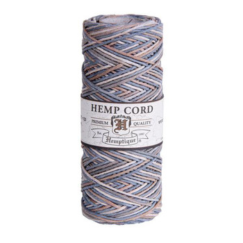 Sandal Wood #20 1mm Hemp Cord 50grm Spool 200 feet