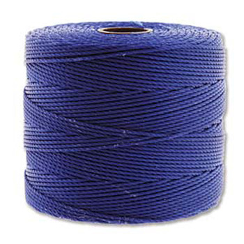 S-Lon Nylon Beading Cord FINE Tex 135  0.4mm CAPRI BLUE