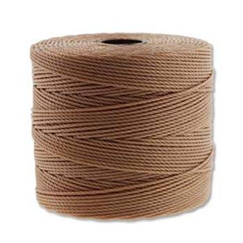 S-Lon Nylon Beading Cord FINE Tex 135  0.4mm LT COPPER