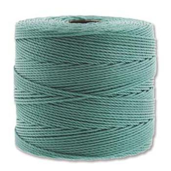 S-Lon Nylon Beading Cord FINE Tex 135  0.4mm VINTAGE JADE