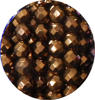 LIMITED Dk Bronze 20 8mm FirePolished Glass Beads 8 Inch Loose Strand From Our Storefront