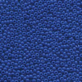22 Grams Czech 8/0 Glass Seed Beads Blue Approx 22 Grams