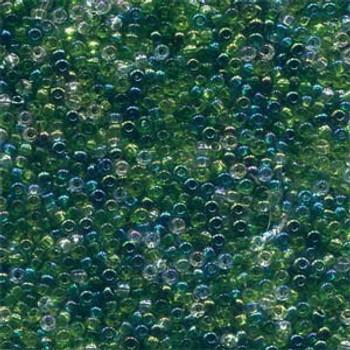 22 Grams Czech 8/0 Glass Seed Beads Mixed Czech Glass Seed Beads Evergreen Approx 22 Grams