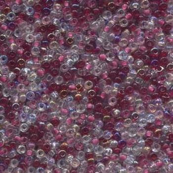 22 Grams Czech 8/0 Glass Seed Beads Mixed Czech Glass Seed Beads Strawberry Approx 22 Grams