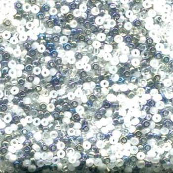 22 Grams Czech 8/0 Glass Seed Beads Mixed Czech Glass Seed Beads Apparition Approx 22 Grams