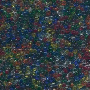 22 Grams Czech 8/0 Glass Seed Beads Mixed Czech Glass Seed Beads Rainbow Approx 22 Grams