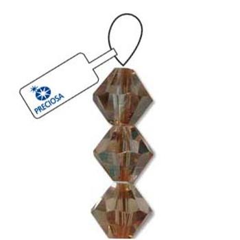 Crystal Bicone 4mm Crystal Celsian 30 Beads Preciosa Czech Crystal