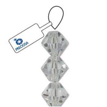 Crystal Bicone 4mm Crystal 30 Beads Preciosa Czech Crystal